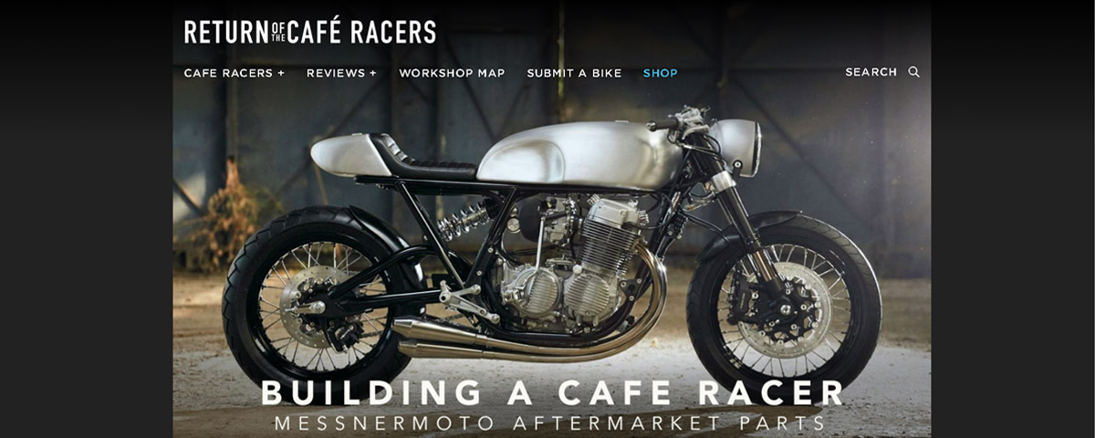 BUILDING A CAFE RACER – MESSNERMOTO PARTS